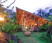 Ngôi nhà bằng tre đẹp hút hồn trên