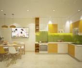 Những mẫu thiết kế tủ bếp chữ L cho nhà đẹp lung linh