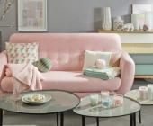 Những mẫu phòng khách phong cách Scandinavia ấn tượng với gam màu pastel