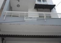 Cho thuê nhà HXH 55 Lê Thị Hồng Gấm, 4m x 18m, trệt, 3 lầu, 4 PN, nhà mới, giá 35 triệu/th