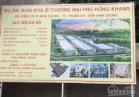 Phú Hồng Khang dự án mới của CĐT Phú Hồng Thịnh, Bình Chuẩn, Thuận An