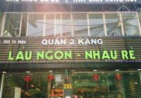 Nhà mặt phố 160m2 x 2 tầng, 7m mặt tiền tại Tô Hiệu cho thuê dài hạn (nhà hàng, văn phòng)