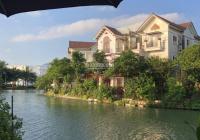 Bán BT Hoa Lan 348m2 rẻ quạt ngã 3 sông, đơn lập, 40tỷ, gần Alamz, Vinhomes Riverside: 0971861111