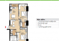 Cần bán căn hộ CC The Era Town Đức Khải, Q7, 1,750 tỷ, 90m2, 2PN, LH 0902 339 985