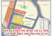 Bán đất quận 12 giá chỉ từ 45-47tr/m2 nằm ngay cầu An Lộc, Hà Huy Giáp, DT từ 80- 100m2
