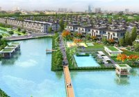 Cho thuê biệt thự phố liền kề Lavila Kiến Á, Nhà Bè, 4PN, nội thất cao cấp, giá 15 triệu/tháng