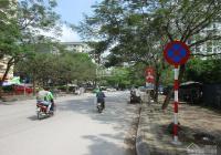 Cho thuê nhà biệt thự KĐT Pháp Vân DT 300m2 x 4T, đã hoàn thiện, đường rộng 17m