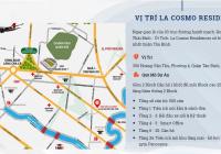 Bán căn hộ La Cosmo ngay CV Hoàng Văn Thụ, 62m2 + lửng 36m2 (3PN - 3WC), 4.36 tỷ (có VAT + PBT)