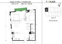 5 căn hộ còn lại duy nhất dự án T - Place 30A Lý Thường Kiệt, Hoàn Kiếm, Hà Nội