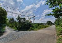 Bán lô đất góc 2MT Bàu Lách, xã Phạm Văn Cội, Củ Chi. DT 75x100m (300m2 TC), giá 320tr/m ngang
