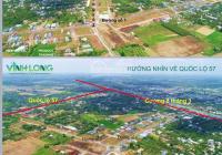 Bán đất thổ cư sổ đỏ riêng từng nền, chỉ 8tr/m2 ngay trung tâm TP Vĩnh Long CK: 1% LH: 0908207092