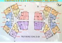 Chính chủ bán gấp căn hộ chung cư CT1 Yên Nghĩa, DT 130m2, 3PN 2VS, giá bán: 13tr/m2 LH O961000870