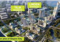 Nhận ký gửi mua bán căn hộ Empire City 1PN, 2PN, 3PN, tháp Linden, giá tốt. LH: 0902183968