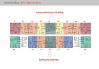 Bán suất ngoại giao chung cư IA20 Ciputra tầng 16, DT 92m2 và 108m2, bán rẻ 22.5tr/m2, 0966.348.068