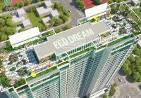 Chuyển công tác cần bán gấp căn hộ T1510 3PN - 2WC Eco Dream, DT 97.68m2, giá 2,7 tỷ. 0961.000.870