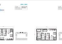 Bán căn A02 chung cư Mipec Rubik 360 - 122 Xuân Thủy, Hà Nội - 85m2 ban công hướng Nam