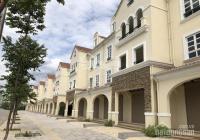 Bán căn Shophouse 2 mặt đường 50m & 16m Khu đô thị Nam An Khánh DT 188m2, sổ đỏ hỗ trợ vay bank 80%