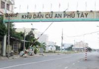 Mở bán đợt 2 KDC An Phú Tây, Bình Chánh có sổ trao tay, dân cư đông, tiện KD buôn bán