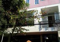 Cho thuê nhà góc 2MT Quách Văn Tuấn, P.12, Tân Bình, K300, DT 7.8 x 12m, bán hầm, 3L