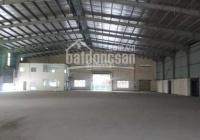 Cho thuê nhà xưởng 3000 m2. 1200m2 trong KCN Tân Tạo, Bình Tân, HCM