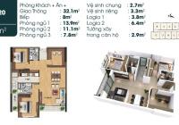 Bán căn 3 ngủ, 92m2 tại TSG Lotus Sài Đồng 2,281 tỷ, nội thất liền tường, nhận nhà ngay, tầng đẹp