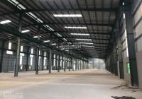 Cho thuê kho xưởng 1100m2, 1600m2, 3500m2, 5000m2 tại KCN Thạch Thất Quốc Oai, Hà Nội