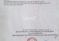 Cần bán nhanh lô đất ngay KCN Hiệp Phước, Nhà Bè DT gần 99.9m2, giá 700tr. LH 0919.696.102