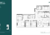 Bán lỗ căn hộ 4 phòng ngủ Nara Empire City, tầng 11 giá 30,1 tỷ (166m2). Gọi 0938 506 906 Anh Chris