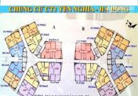 Tôi tên Minh bán gấp CH CT1 Yên Nghĩa, căn 1601B, DT 55.96m2, giá 15tr/m2 0981300655(MTG)