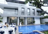 Bán căn villa sang trọng 700m2 tại Thảo Điền Q. 2. DT: 20x35m 3 tầng + hồ bơi + có nội thất cao cấp
