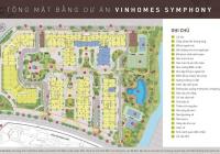 BQL tổng hợp cho thuê shophouse và kiot siêu dự án Vinhomes Symphony Riverside