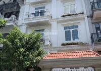 Cho thuê nhà khu A10 Nguyễn Chánh, 75m2*4 tầng, MT 6m thông sàn, giá mong muốn 40 triệu