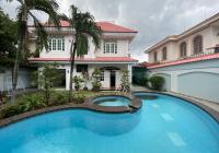 Villa sân vườn hồ bơi 4PN, full nội thất, khu an ninh, chỉ 70tr