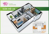 Bán rẻ căn hộ Prosper Phố Đông, mặt tiền Tô Ngọc Vân, căn A18 tầng 9 view về Tô Ngọc Vân