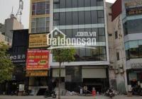 Cho thuê nhà mới xây đẹp nhất phố Xã Đàn 130m2x5 tầng, mặt tiền 6,5m, thang máy, hầm