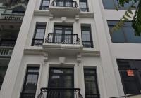 CC cho thuê nhà MP Trương Công Giai, DT 70m2 * 6,5 tầng, MT 5,5m, thông sàn, thang máy. Giá 70tr