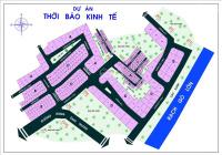 Kẹt tiền bán gấp lô E 2 mặt tiền đường dự án Thời Báo Kinh Tế, Bưng Ông Thoàn, Phú Hữu, Quận 9