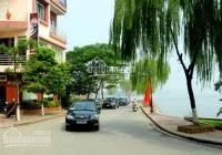 Nhà C4 lô góc mặt phố Đồng Cổ - Thụy Khê DT 55m2, MT 7m, đường 15m vỉa hè 4m giá cực mềm