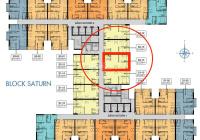 Nhà hàng lỗ vốn cần bán lại căn hộ Q7 Sài Gòn Riverside, giá HĐ 1 tỷ 800 100% vat