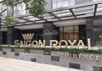 Bán officetel Saigon Royal - 75m2, giá bán 5.5 tỷ, view sông, LH 0918753177