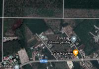Đất xã Tân Lập, huyện Bắc Tân Uyên, 200m2, mặt đường, giá TT 700tr, có thương lượng thêm