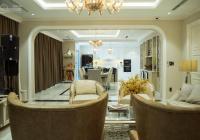 Bán Penthouse đẳng cấp tầng 46 view sông Sài Gòn Vinhome Tân Cảng 300m2 + sân vườn full nội thất