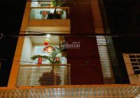 Cho thuê nhà mặt tiền đường Lê Bôi, quận 8, nhà 1 trệt 3 lầu, full nội thất, giá 28tr/th