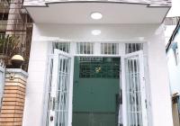 Nhà mới hẻm 1 sẹc Bến Phú Lâm, 37.5m2, 2 tấm hẻm 4m