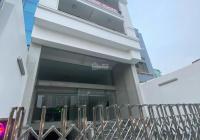 Cho thuê tòa nhà mới đẹp mặt tiền Võ Văn Kiệt, P Cầu Kho, Q1. 8x20m, 10 tầng, 400tr/th