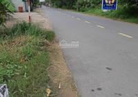 Bán đất ODT DT 12x53m, 639m2, 2 mặt tiền đường Vườn Thơm Bình Lợi Bình Chánh, LH 0911255823