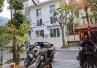 Cần cho thuê nhà phố Hoàng Ngân, DT 130m2 4.5 tầng, MT 8m, có vỉa hè sân vườn, giá 40tr, 0903214335