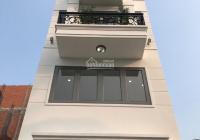 Nhà 4 tầng 4x17m cuối đường Nguyễn Oanh có thang máy, sổ có sẵn, đường xe hơi