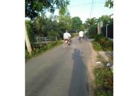 Bán đất mặt tiền đường Mỹ Lộc Phước Hậu, xã Phước Hậu, Cần Giuộc, DT 90m2 thổ cư góc 2 MT