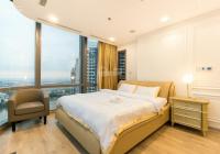 Cho thuê căn hộ 1 phòng ngủ đầy đủ nội central 2 55m2 tầng 25 giá 11tr lh 0906515755